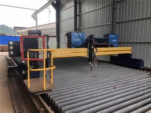 Automatiseret CNC Plasmaskæremaskine Dobbeltkørsel 4 m Span 15m skinner