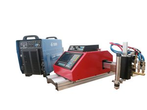 Automatisk bærbar CNC plasmaskæremaskine til rustfrit stål aluminium