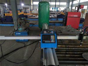 billig pris bærbar cnc gasskæremaskine til metalplade