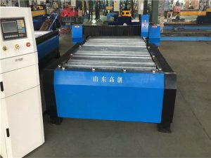 Kina Huayuan 100A Plasmaskæring CNC-maskine 10mm plademetal