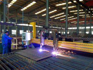 Gantry plade CNC plasma skrånende 45 graders skæremaskine