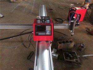 Høj kvalitet bærbar cnc plasmaskæremaskine cnc plasmaskærer til rustfrit stål og metalplade