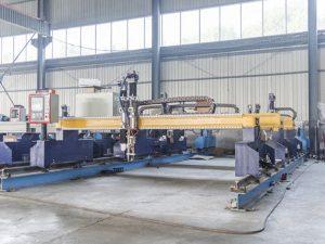 Intelligent Gantry type cnc metalplader skæremaskine automatisk plasma og flammeskærer maskiner
