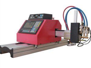multifunktionel firkantet stålrørprofil cnc flamme / plasmaskæremaskine af høj kvalitet