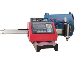 Bærbar CNC plasma-skæremaskine og automatisk gasskæremaskine med stålspor
