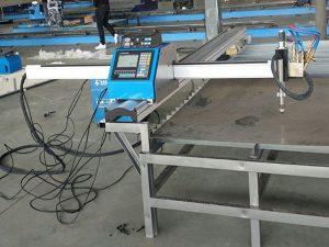 Bærbar cnc plasma skæremaskine økonomisk pris Metal skæremaskine