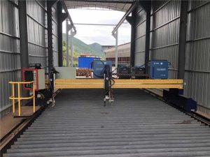 Præcision CNC Plasmaskæremaskine nøjagtig 13000mm med servomotor