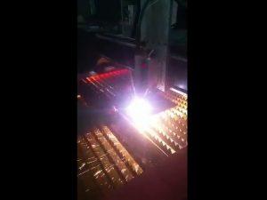 industriel cnc plasma-skæremaskine, der leverer plasma-effekt i høj kvalitet