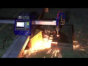 lavpris mini bærbar cnc rørflamme plasma skæremaskine til skæring af rustfrit stål i metal