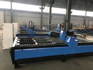 metalforarbejdning lille cnc plasma skæremaskine med høj præcision