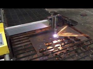 bærbar cnc flameplasma skæremaskine med hypertherm 45